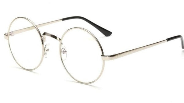 3ceaa47fab ... Peekaboo Cheap small round nerd glasses clear lens unisex gold round  metal frame glasses frame optical ...