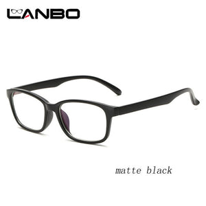 Computer Glasses Frames Anti Blue Rays Radiation Men Women Square Eye PC Glasses Frames Unisex Optical Print Glasses PC 3028-novahe