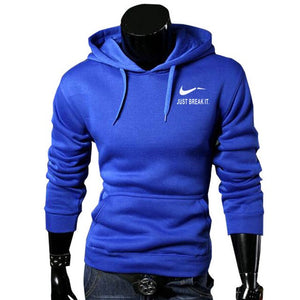 RUMEIAI Autumn New Arrival High JUST BREAK IT Printed Sportswear Men Sweatshirt Hip-Hop Male Hooded Hoodies Pullover Hoody-novahe