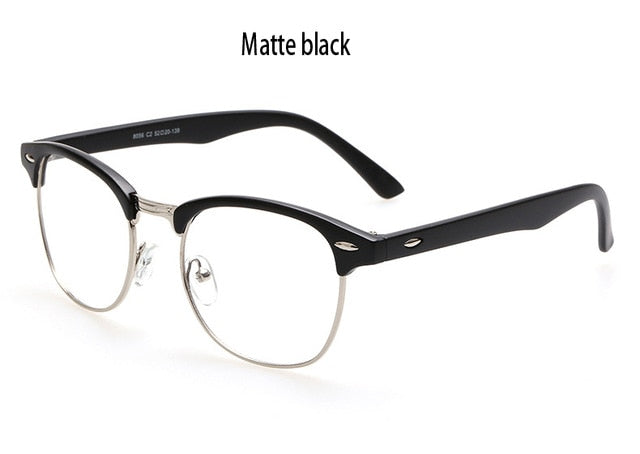Brand Design Eyewear Frames eye glasses frames for Women Men Male Eyeglasses Mirror Ladies Eyeglass Sports Plain spectacle frame-novahe