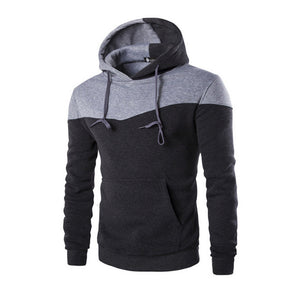 Fashion Men Slim Hoodie Hooded Sweatshirt Coat Jacket Winter Warm Outwear H9-novahe