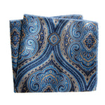 Men Satin Solid Floral Pocket Square Handkerchief Paisley Party Floral Hanky-novahe