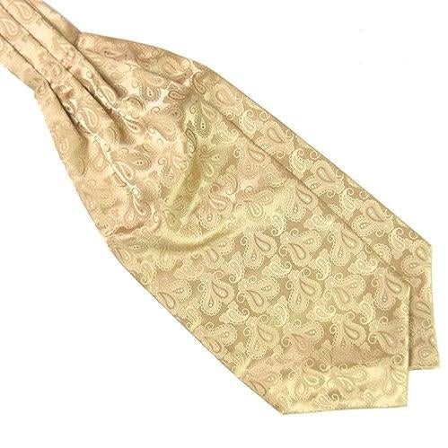 Men's Classic Colorful Silky Satin Wedding Banquet Necktie Cravat Ascot Tie-novahe