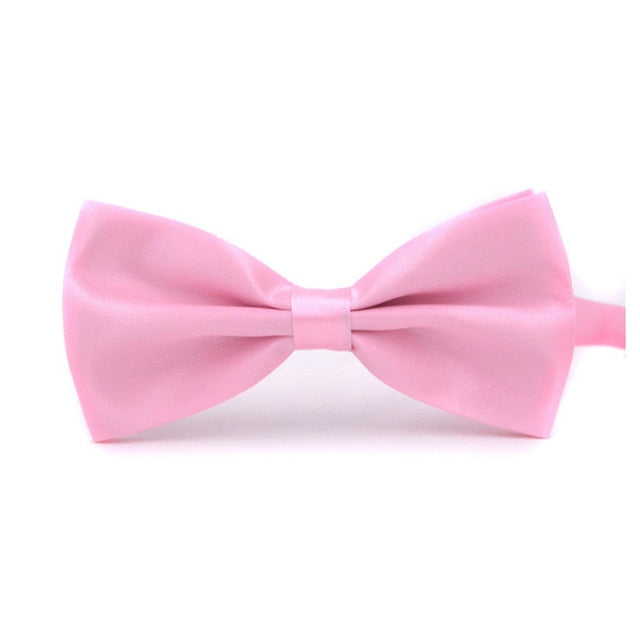 Fashion 1PC Gentleman Men Classic Satin Bowtie Necktie For Wedding Party Adjustable Bow tie knot-novahe