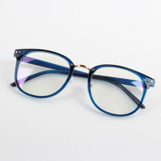 Women Glass Frame Eyeglasses Frames Eyewear clear lens Glasses Spectacle Frame Silicone Optical Brand Eye-novahe