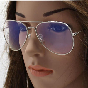 cd097fd51f Women Men Transparent Spectacles Computer Glasses Fashion Anti Blue Ray  Clear Lens Metal Frame Eyeglasses Oculos
