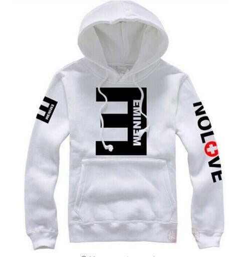 2017 Winter Men's Fleece Hoodies Eminem Printed Thicken Pullover Sweatshirt Men Sportswear Fashion Clothing women sweatshirt-novahe