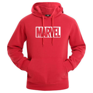Hot 2018 Autumn And Winter Brand Sweatshirts Men High Quality MARVEL letter printing fashion mens hoodies-novahe