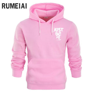 RUMEIAI New 2018 Hoodies Men Long Sleeve Hoodie Lightning JUST DO IT print Sweatshirt Mens Casual Brand Clothing Hoody Jacket-novahe