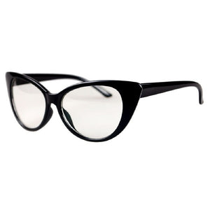 a819f5a99f385 Women Cat Eye Glasses Frames Sexy Striped Retro Eyeglasses Ladies Vintage  Spectacles Frame Clear Lens Glasses
