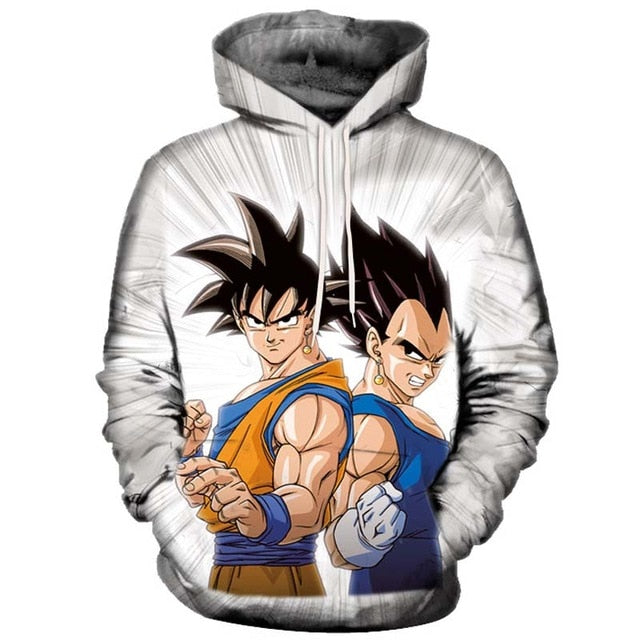 Anime Hoodies Dragon Ball Z Pocket Hooded Sweatshirts Goku 3d Hoodies Men Women Long Sleeve Harajuku Hoodie Sweatshirt Pullovers-novahe