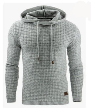 2017 New Casual Hoodie Men'S Hot Sale Plaid Jacquard Hoodies Fashion Military Hoody Style Long-Sleeved Men Sweatshirt 4XL-novahe