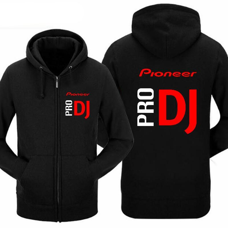 Pkorli Pioneer Pro DJ Sweatshirt Club Wear Cdj Nexus Audio Ddj Hoodie Men Women Casual Fleece Mens Hoodies Hip Hop Hoody-novahe