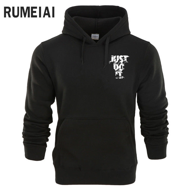 RUMEIAI 2018 Hoodie Men Letter Print Hoodie Mens Sweatshirt Hip Hop Hoodies Pullover Fashion Male Brand Cotton Winter Sportswear-novahe