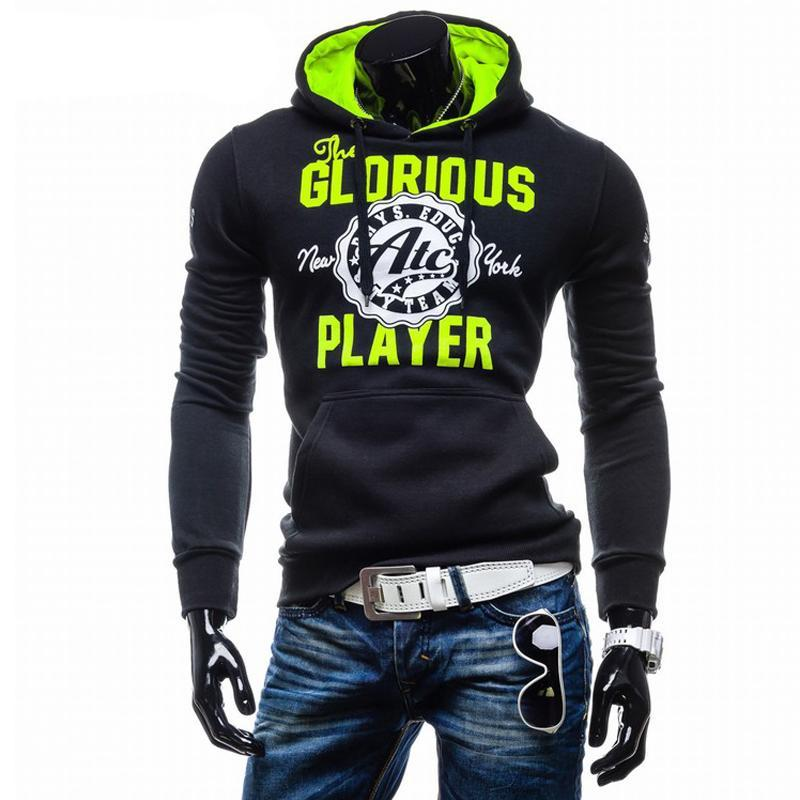 T-bird Hoodies Men Letter Printing Sweatshirts Men Hip Hop Pullover Autumn Winter Mens Sportswear Brand Fashion Male Hoodie XXL-novahe