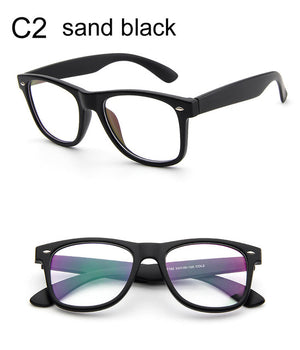 Fashion Clear Glasses Men Fake Glasses Square Eyeglasses Optical Frames Male Reading Eyewear Spectacle Frames Transparent Oculos-novahe