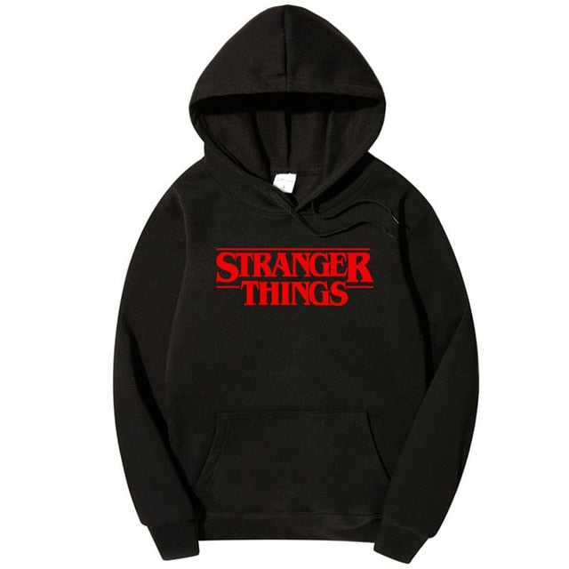 Stranger Things Sweatshirt New TV Show Men Cotton Clothes Stranger Things Hoodie Sweatshirts Fashion Hooded Most Free Shipping-novahe