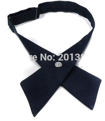2018 crossover solid butterfly bow tie knot bowtie men's necktie women's neck ties ascot cravate for women 7colors-novahe