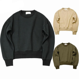 QoolXCWear 2018 new KANYE WEST FOG SEASON Sweatshirts simple solid men's Hoodies oversize drooping shoulders men's tops-novahe