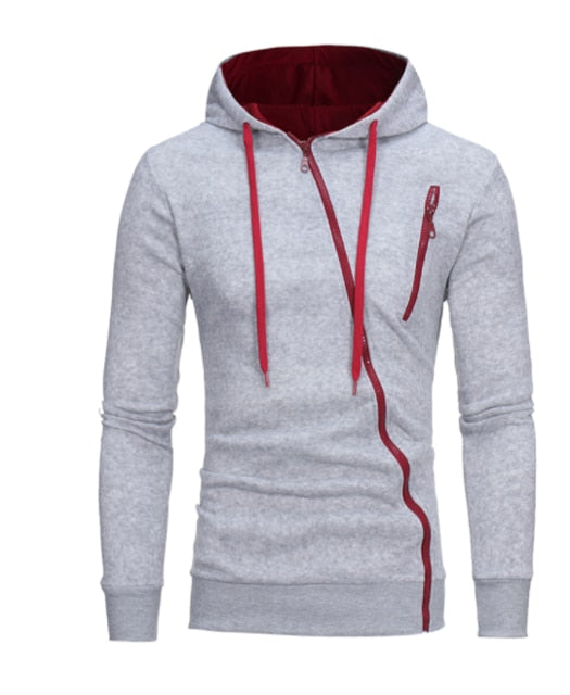 Brand 2018 Hoodie Features Zipper Hoodies Cardigan Men Fashion Tracksuit Male Sweatshirt Hoody Mens Purpose Tour-novahe