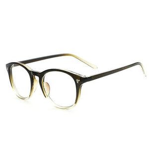 2018 Brand Design Vintage Eyeglasses Female Male Degree Optical Clear Lens Eye Glasses Women Men Eyewear Frames spectacle frames-novahe