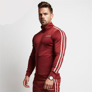 2017 Men Casual Hoodies Fitness Brand Clothing Camisetas Tracksuits Men Bodybuilding Sweatshirt Muscle Hooded Jackets-novahe