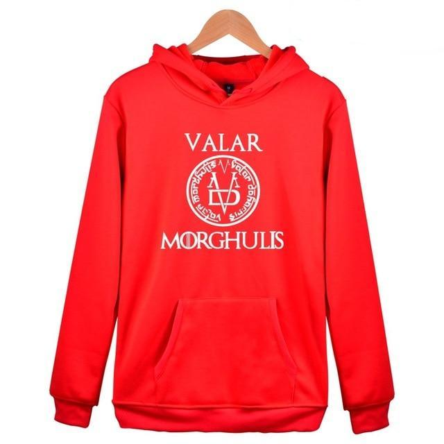 A Song of Ice and Fire Game of Thrones Hoodies Men Women Casual Fashion Game of Thrones Clothing Hooded Sweatshirts-novahe
