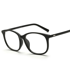 Hindfield Men Women Glasses Frame Plain Glasses Spectacles Eyeglasses Frame Vintage Brand Designer Clear Lens Eyewear-novahe