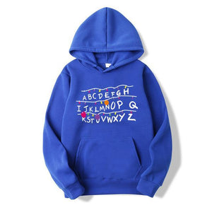 2018 Trendy Faces Stranger Things Hooded Mens Hoodies and Sweatshirts Oversized for Autumn with Hip Hop Winter Hoodies Men Brand-novahe