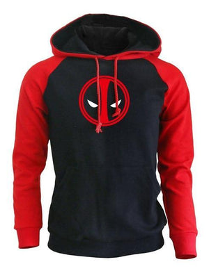 2018 Hoody For Men Autumn Fleece Winter Sweatshirts Kpop Clothing Raglan Hoodies DEADPOOL Hip Hop Casual Crossfit Hoodie Hot-novahe