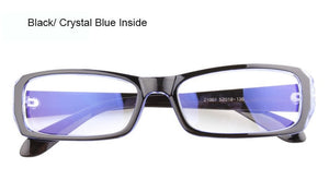 Anti Blue Ray Computer Glasses Spectacle Frame Oculos de Grau Female Transparent Eyeglasses for Women Men Blue Coating Antiglare-novahe