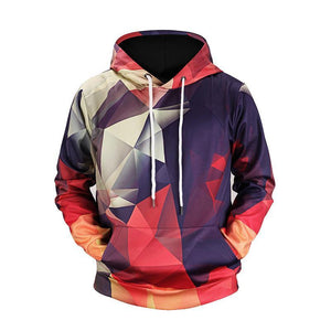 2018 New Brand Hooded Hoodies Men/Women Color Blocks Hot Fashion Hip-hop Sweatshirts Print Stripped Hoody Hoodies Casual X644-novahe