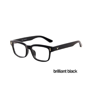 Classic V-Shaped Box Eye Glasses Frames Brand For Men New Women Computer Frames Eyewear Vintage Armacao Oculos De Grau-novahe