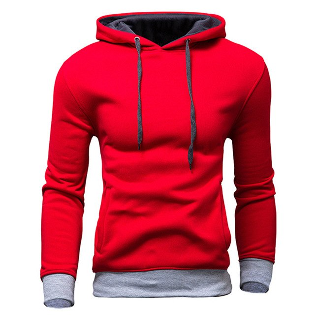 TANGNEST Men's Sweatshirt 2018 New design Fashion Solid Hoooded Casual Autumn Hoodies 4 Colors Male High Quality Pullover MWW870-novahe