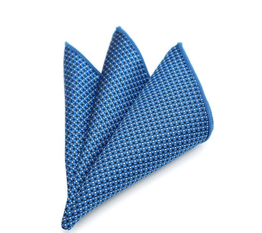 15 Patterns Men's Silk Handkerchief Stripe Paisly Dots Rolled Edged Pocket Square 22cm Wedding Business Party Chest Towel Hanky-novahe