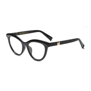 MOLNIYA Fashion Cat Eye Reading Eyeglasses Optical Glasses Frames 2018 New Glasses Women Frame Ultra Light Frame Clear Glasses-novahe