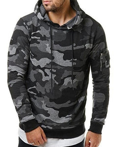 2018New Mens Camouflage ands Sweatshirts Hooded Sweatshirts Male Clothing Fashion Military Hoody For Men Printed Hooie-novahe
