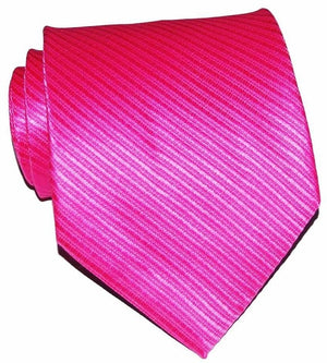 10cm Width Brand New Classic Solid Color Striped Ties For Men Jacquard Woven 100% Silk Tie Wedding Party Men's Tie Necktie Red-novahe