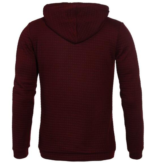 Men 2018 Brand Male Hip Hop Long Sleeve Solid Color Hooded Sweatshirt Mens Hoodie Tracksuit Sweat Coat Casual Sportswear-novahe