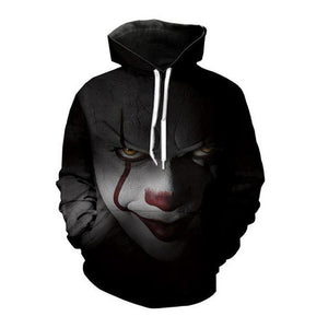 Alisister Horror Movie Clown Hoodie 3d Skull Sweatshirt EUR Plus Size COSPLAY Sportswear Tracksuit Men Women Unisex Pullover-novahe