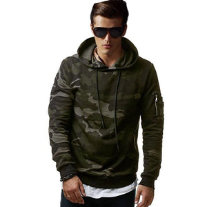 LeeLion 2018 New Camouflage Hoodies Men Cotton Sweatshirts Fashion Casual Sportswear Slim Fit Tracksuit Hip Hop Hooded Pullover-novahe