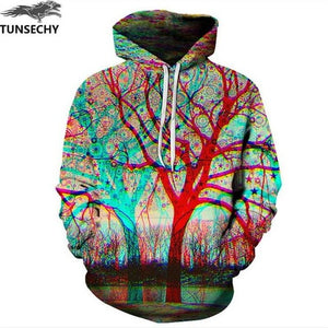 TUNSECHY Hot Fashion Men/Women 3D Sweatshirts Print Milk Space Galaxy Hooded Hoodies Unisex Tops Wholesale and retail-novahe
