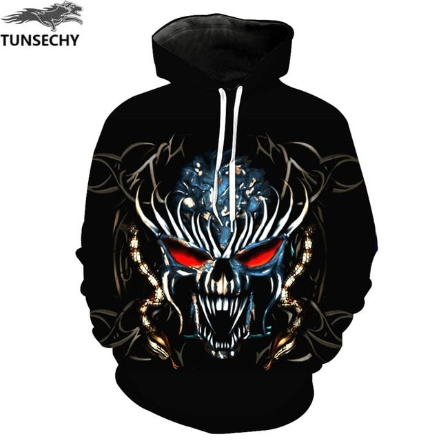 TUNSECHY Anime Hoodies Dragon Ball Z Pocket Hooded Sweatshirts Goku 3D Digital printing Men Women Long Sleeve New Hoodie-novahe