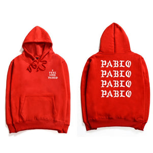 Assc Hip Hop Hoodies Men I Feel Like Pablo Kanye West Streetwear Hoodie Sweatshirts Anti Social Letter Print Hooded Hoodie Club-novahe