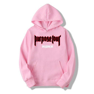 WZZAE 2018 New Winter Fleece Justin Bieber men and woman Hoodies & Sweatshirts Pure Cotton Single Men Hoodies Purpose Tour-novahe
