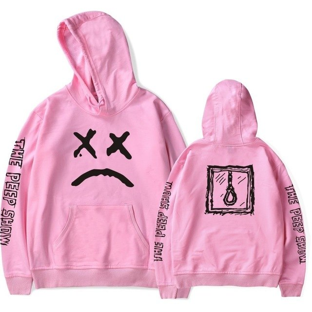 Newest Lil Peep R.I.P Lil Peep LOVE Men/Women Pocket Hoodies Love Hood Lil. Peep Hoodies Hip Pop Man Clothes Fan Shirts-novahe