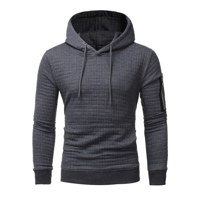 2018 New High-End Casual Hoodie Men'S Fashion Unique Korean Style Long-Sleeved Sweatshirt-novahe