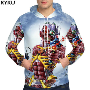KYKU Brand Bear Sweatshirts Mens Clothing War Russia Sweatshirt Gun 3d hoodies Men Sweatshirts Male hood-novahe