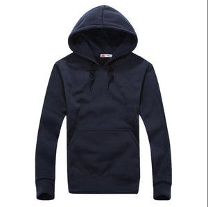 Men's Fashion Long Sleeve Hip Hop Hoodie With a Hood Cardigan Lovers Men Hoodies 2018 Sudaderas Ho Navy Blue Tute Sportive Uomo-novahe