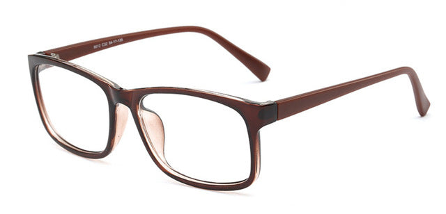 New Square Eyeglasses Frames Men Eyeglasses Black Frame With Clear ...